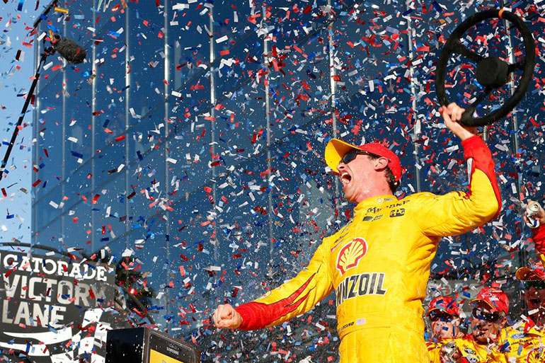 The Connection Joey Logano Daytona 500 Win